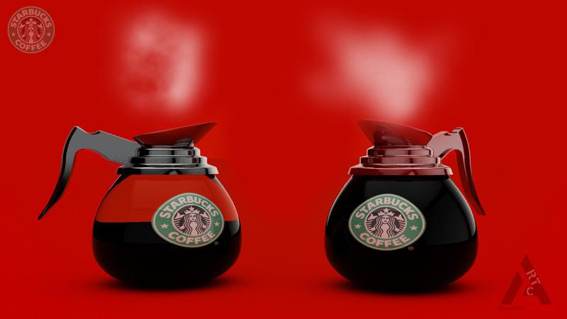 starBuck Coffee pot